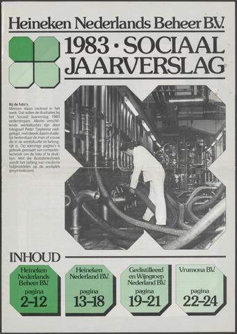 Heineken - Sociaal Jaarverslag 1983-01-01