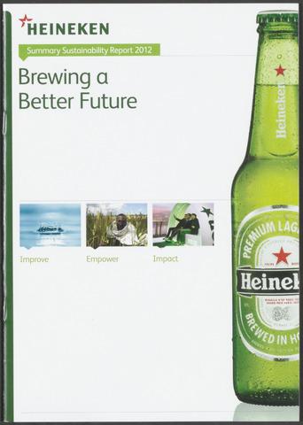 Heineken - Milieuverslag 2012
