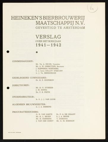 Jaarverslagen 1941-01-01