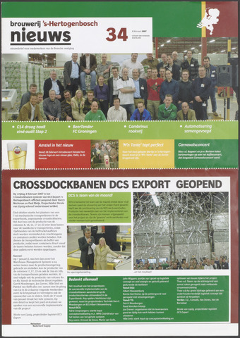 Heineken Brouwerij Nieuws 2007-02-08