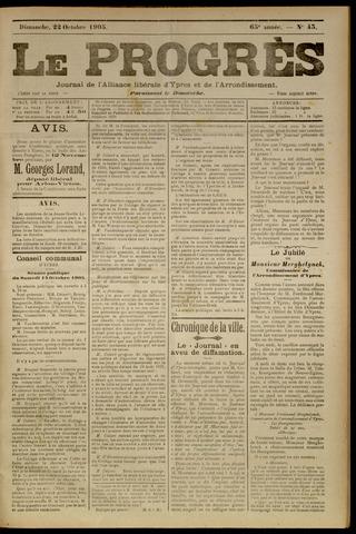 Le Progrès (1841-1914) 1905-10-22
