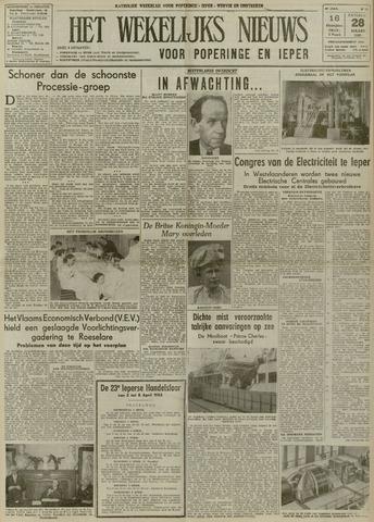 Het Wekelijks Nieuws (1946-1990) 1953-03-28