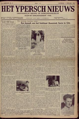 Het Ypersch nieuws (1929-1971) 1961-02-04