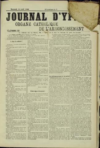 Journal d'Ypres (1874 - 1913) 1906-04-18
