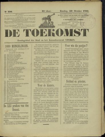 De Toekomst (1862 - 1894) 1892-10-23