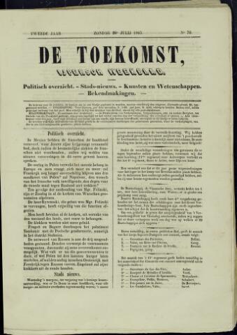 De Toekomst (1862 - 1894) 1863-07-26