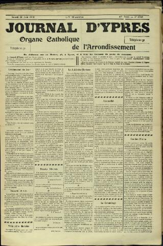 Journal d'Ypres (1874 - 1913) 1912-08-24