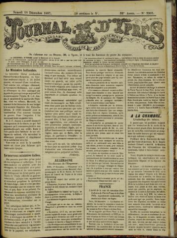 Journal d'Ypres (1874 - 1913) 1897-12-18