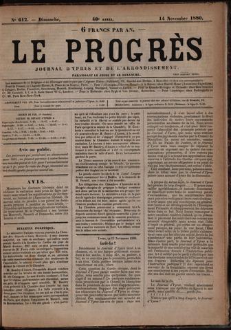 Le Progrès (1841-1914) 1880-11-14