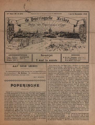 De Poperingsche Keikop (1917-1919) 1918-12-01