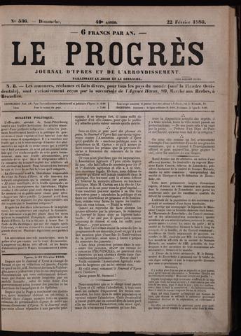 Le Progrès (1841-1914) 1880-02-22