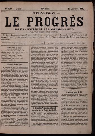 Le Progrès (1841-1914) 1880-01-29