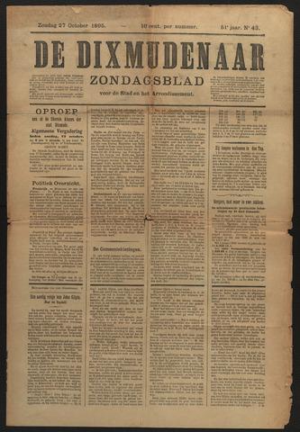 De Dixmudenaar 1895-10-27