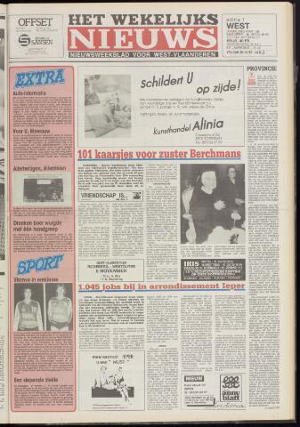 Het Wekelijks Nieuws (1946-1990) 1987-10-30