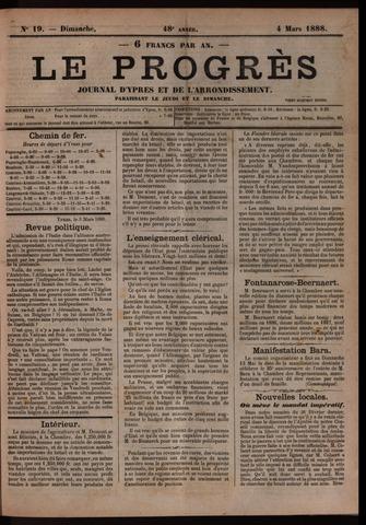 Le Progrès (1841-1914) 1888-03-04