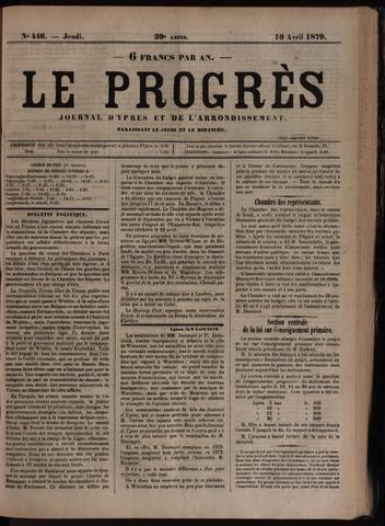 Le Progrès (1841-1914) 1879-04-10