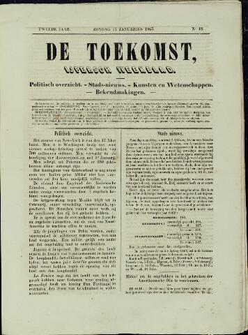 De Toekomst (1862 - 1894) 1863-01-11
