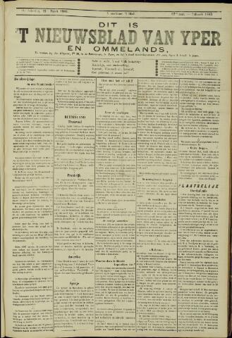 Nieuwsblad van Yperen en van het Arrondissement (1872 - 1912) 1902-03-15