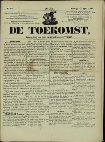 De Toekomst (1862 - 1894) 1889-04-07