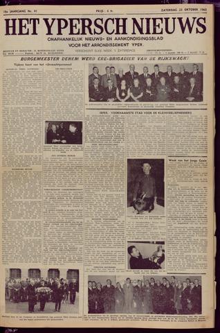 Het Ypersch nieuws (1929-1971) 1965-10-23