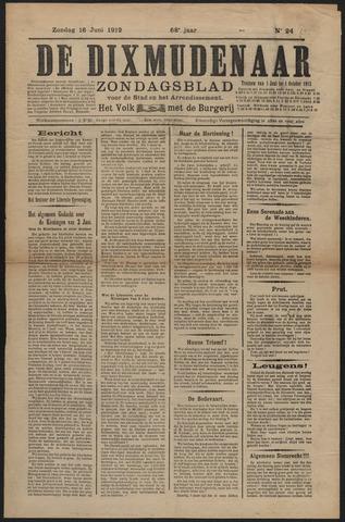 De Dixmudenaar 1912-06-16