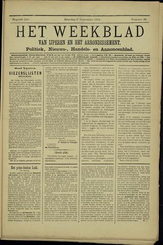 Het weekblad van Ijperen (1886 - 1906) 1894-09-01