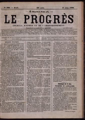 Le Progrès (1841-1914) 1880-06-17