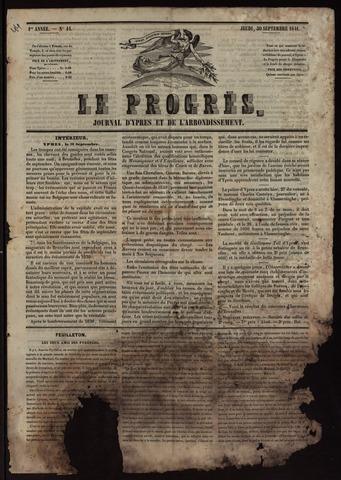 Le Progrès (1841-1914) 1841-09-30
