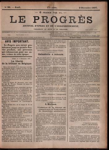 Le Progrès (1841-1914) 1897-12-02