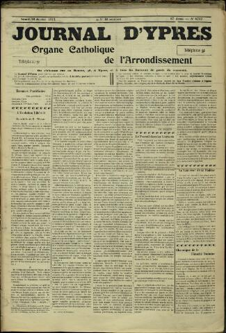 Journal d'Ypres (1874 - 1913) 1912-01-20
