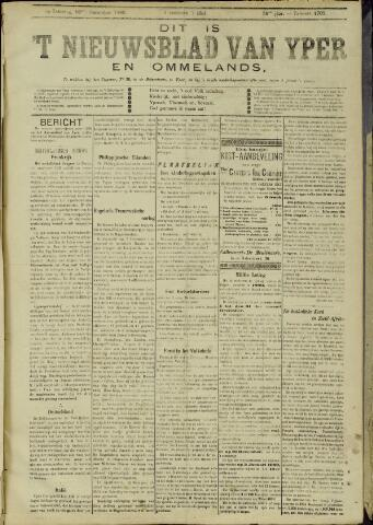 Nieuwsblad van Yperen en van het Arrondissement (1872 - 1912) 1899-12-16