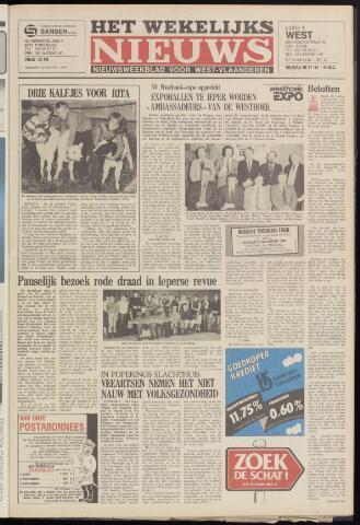 Het Wekelijks Nieuws (1946-1990) 1984-11-30