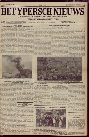 Het Ypersch nieuws (1929-1971) 1962-10-13