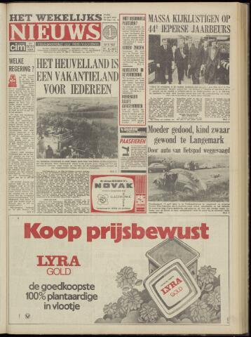 Het Wekelijks Nieuws (1946-1990) 1974-04-19