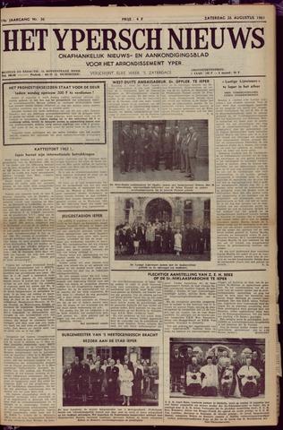 Het Ypersch nieuws (1929-1971) 1961-08-26
