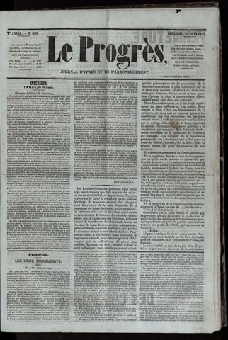 Le Progrès (1841-1914) 1847-06-20