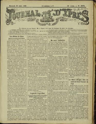 Journal d'Ypres (1874 - 1913) 1900-08-22