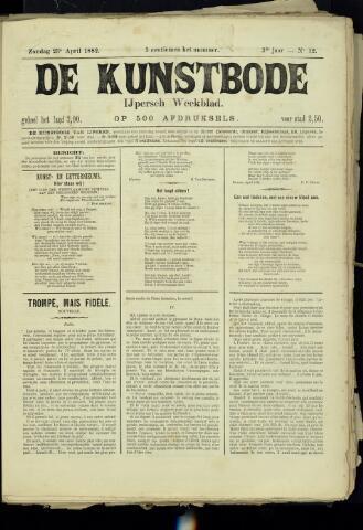 De Kunstbode (1880 - 1883) 1882-04-23