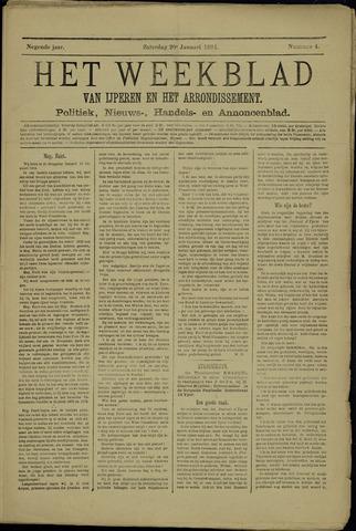 Het weekblad van Ijperen (1886 - 1906) 1894-01-20
