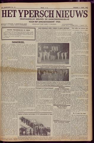Het Ypersch nieuws (1929-1971) 1967-06-02