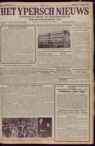 Het Ypersch nieuws (1929-1971) 1967-03-17