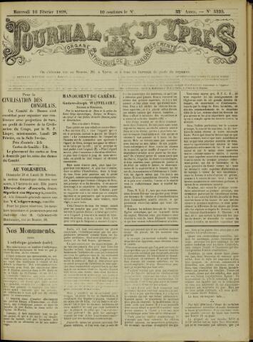 Journal d'Ypres (1874 - 1913) 1898-02-16