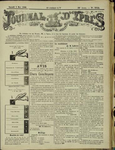 Journal d'Ypres (1874 - 1913) 1900-05-05