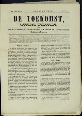 De Toekomst (1862 - 1894) 1863-08-23