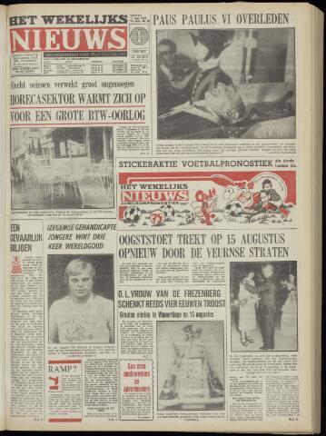 Het Wekelijks Nieuws (1946-1990) 1978-08-11