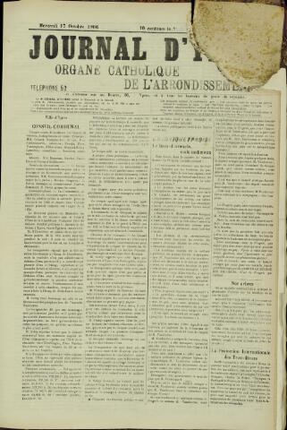 Journal d'Ypres (1874 - 1913) 1906-10-17