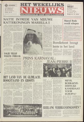 Het Wekelijks Nieuws (1946-1990) 1979-03-16