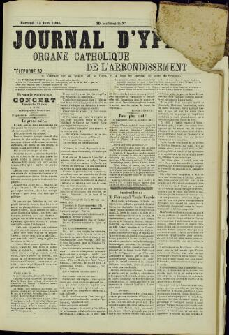 Journal d'Ypres (1874 - 1913) 1906-07-13