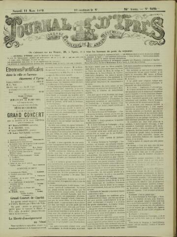 Journal d'Ypres (1874 - 1913) 1899-03-11