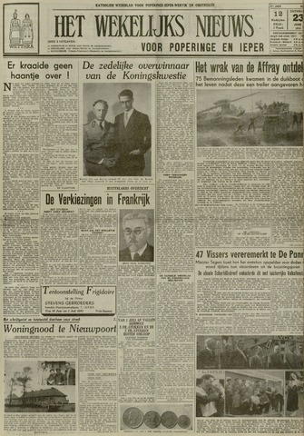 Het Wekelijks Nieuws (1946-1990) 1951-06-23